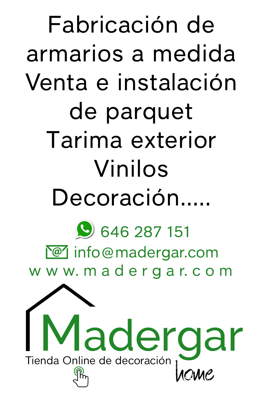 Madergar, tienda online de decoración